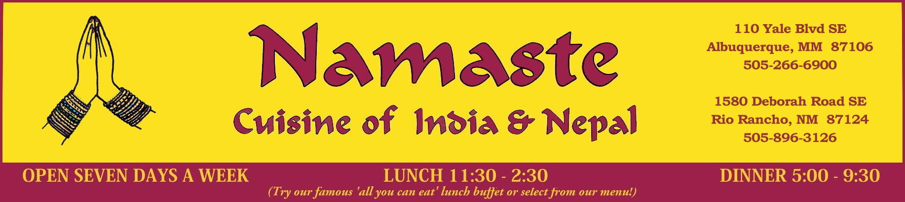 Namaste Restaurant